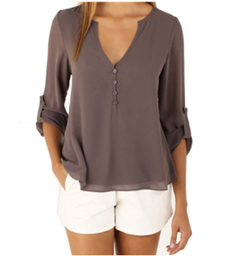 Picture of Feminine chiffon blouse