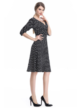 Picture of Dots Pattern Dress