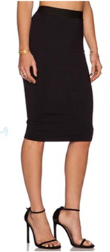 Picture of Bodycon Pencil High Waist Career Skirt