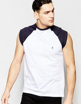 Picture of French Connection Cap Sleeve Raglan Singlet
