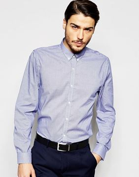 Picture of Ben Sherman Micro Gingham Shirt